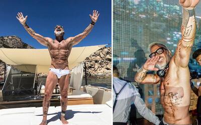 Así es Gianluca Vacchi, el millonario italiano que presume de su vida pe...