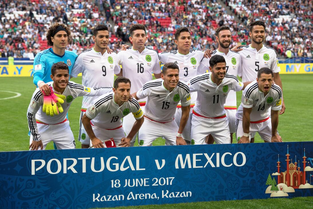 Con gol en tiempo de reposición, México rescató el empate ante Portugal...