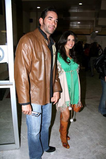 Fue en 2009 cuando Mayrín Villanueva y Eduardo Santamarina anunciaban qu...