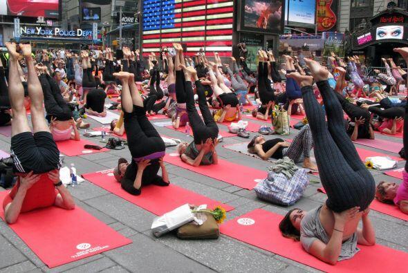 En la imagen, Times Square. Otros cursos estaban previstos también en Lo...