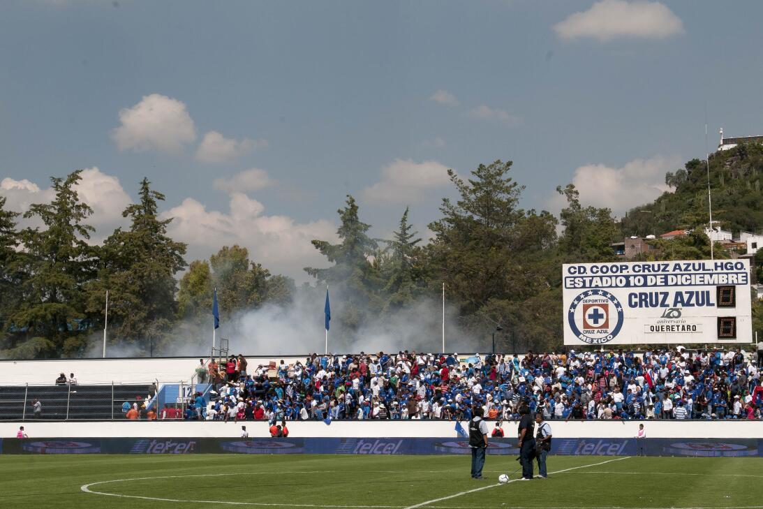 Violencia en los estadios mexico