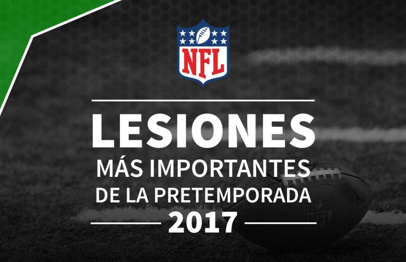 Lesionados temporada 2017