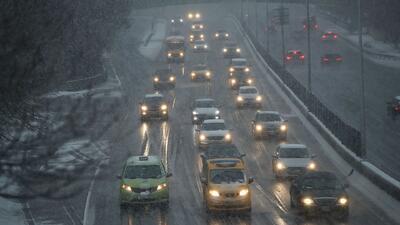 Escuelas cerradas y alerta por carreteras resbaladizas, los efectos de la cuarta tormenta invernal en Nueva Jersey