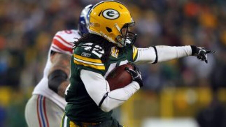 Morgan Burnett es un jugador clave en la defensiva de los Packers.