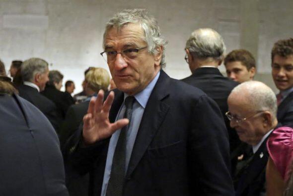 El actor estadounidense Robert De Niro asiste a la apertura del Museo de...