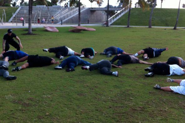Todos los concursantes sueñan con bajar de peso para sentirse bien.