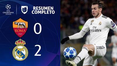Roma 0-2 Real Madrid - GOLES Y RESUMEN - Grupo G - UEFA Champions League