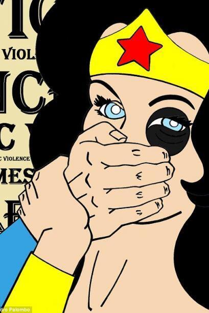 La Mujer Maravilla, Olivia, Vilma Picapiedras, Marge Simpson, Lois Griff...