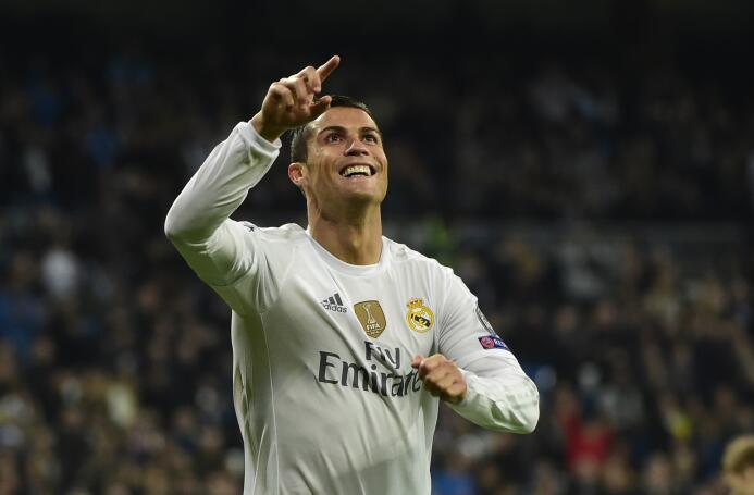 Temporada 2015/2016 - Cristiano Ronaldo (Real Madrid C.F.) con 16 goles.