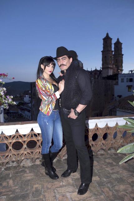 Livia Brito y José Manuel Figueroa
