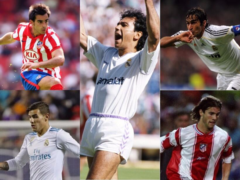 Atlético de Madrid-Real Madrid: un derbi muy mundialista untitled-collag...
