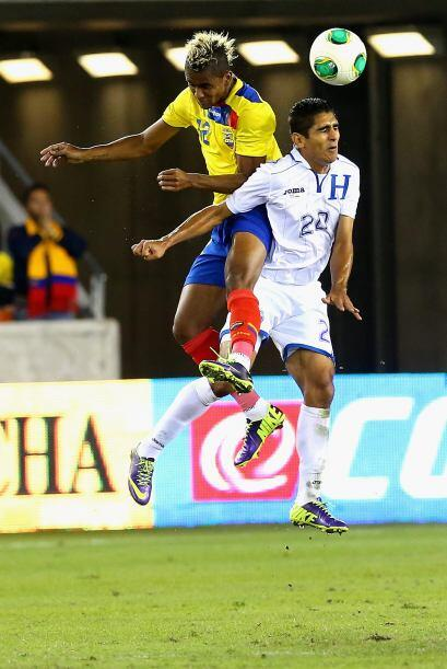 Partidazo de Ecuador vs. Honduras en Houston