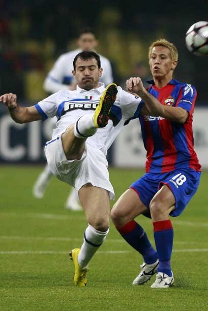 os italianos encararon el juego de Vuelta ante el CSKA Moscú en suelo ruso.