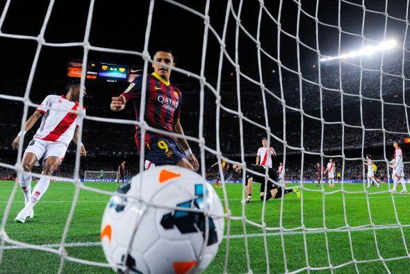 El siguiente fue de Alexis, con un toque de precisión y visión de gol, l...