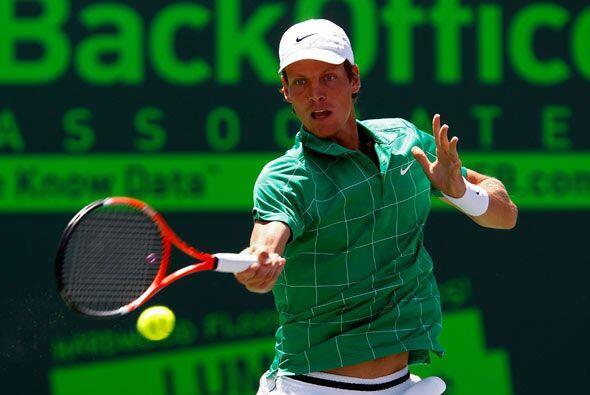 Y el sorprendente y talentoso joven checo Tomas Berdych de 24 años de edad.