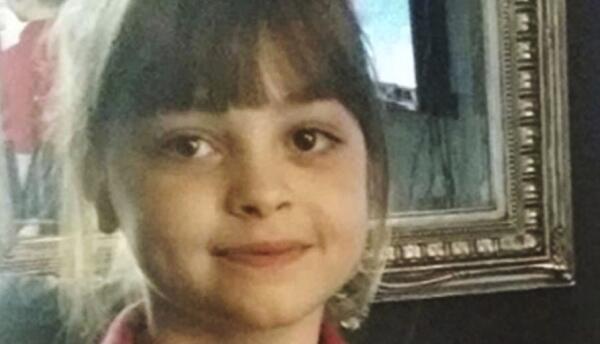 Saffie Rose Roussos, de ocho años, fallecida en el atentado de Manchester.