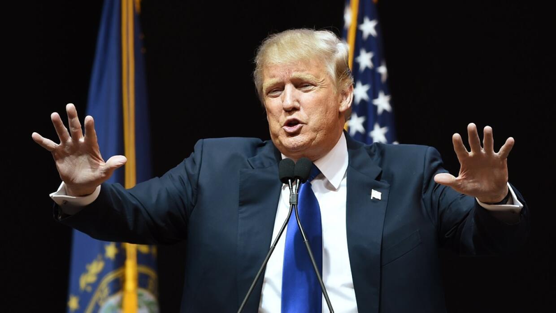 Trump insistió en construir un muro entre EEUU y México.