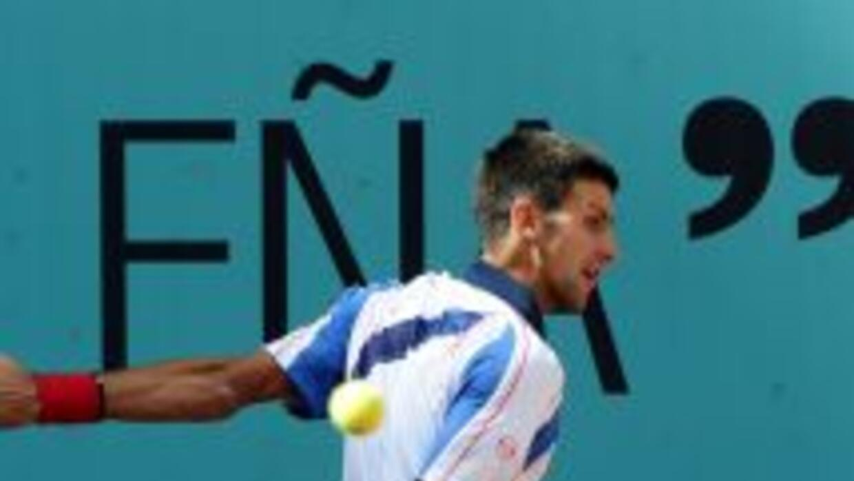 Con la victoria ante García López, el serbio Djokovic igualó al ex estre...