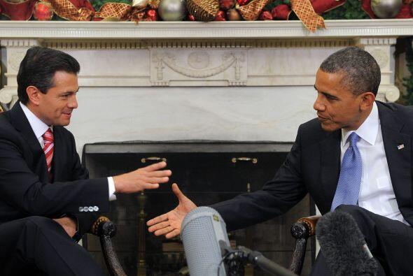 En el despacho Oval, ala Oeste de la Casa Blanca, Obama aseguró que será...