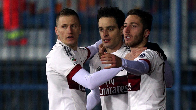 El Milan no supo conservar la ventaja