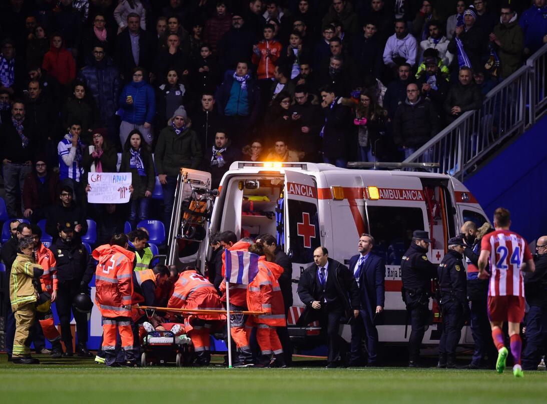 Los primeros auxilios de los futbolistas colchoneros salvaron a Torres d...