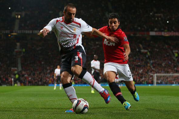 En los minutos finales el Liverpool asedió el marco de De Gea.
