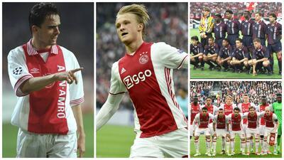 Estos 12 adolescentes revivieron al mítico Ajax campeón de Europa