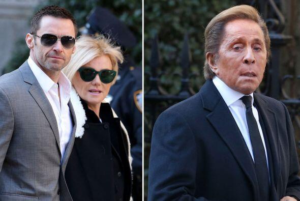 El funeral en honor a Oscar de la Renta se realizó esta mana&ntil...