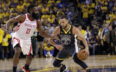 James Harden y Chris Paul fueron la clave para vencer a Steph Curry y lo...