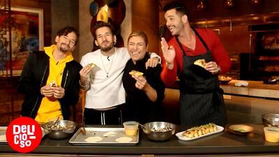 Receta de 'Empanadas de pabellón' preparadas por la chef Lorena García en Las Vegas
