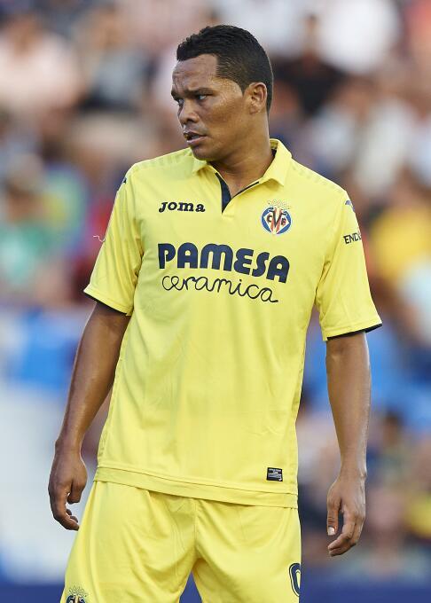 Delantero: Carlos Bacca (Villarreal C.F.)