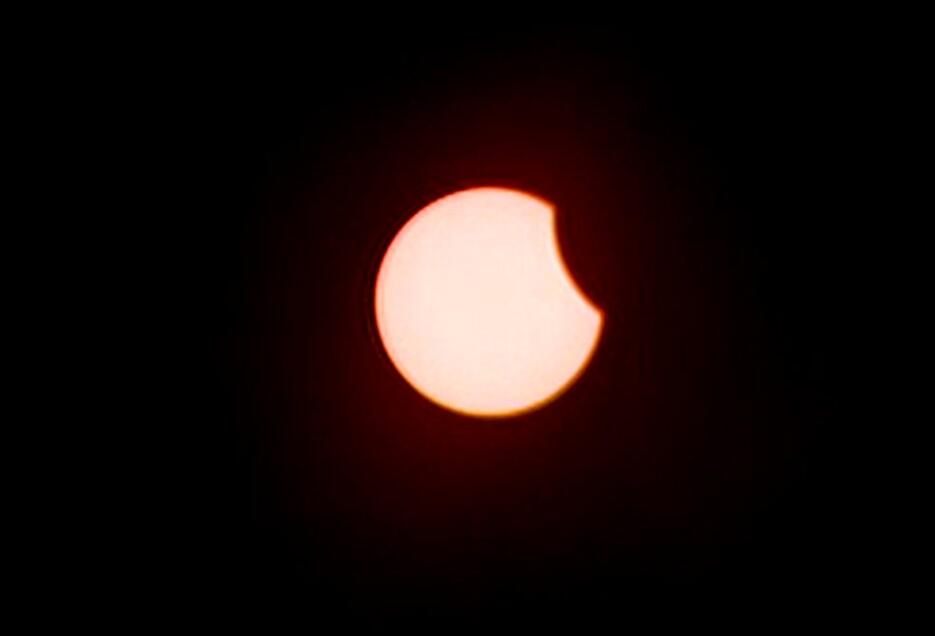Eclipse solar parcial Puerto Rico
