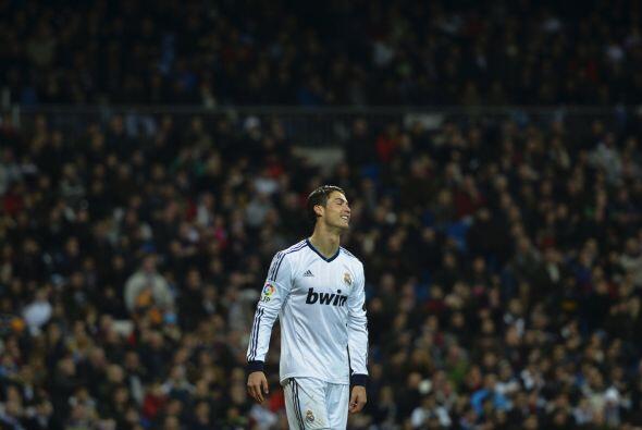Cristiano Ronaldo también lucía desesperado al verse abajo en el partido.
