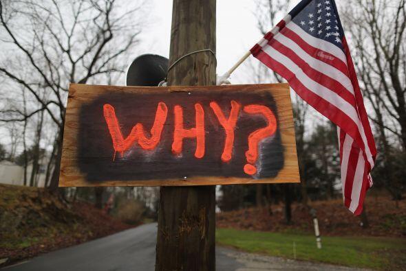 15 de diciembre. La matanza de Newtown enlutó a Estados Unidos. Millones...