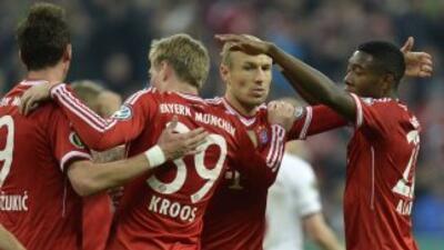 Los bávaros no tuvieron problemas para llegar a la final.