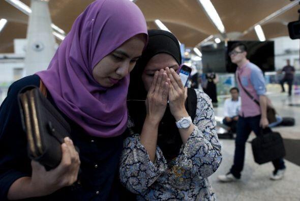 Familiares de las víctimas reciben la noticia del terrible accidente del...