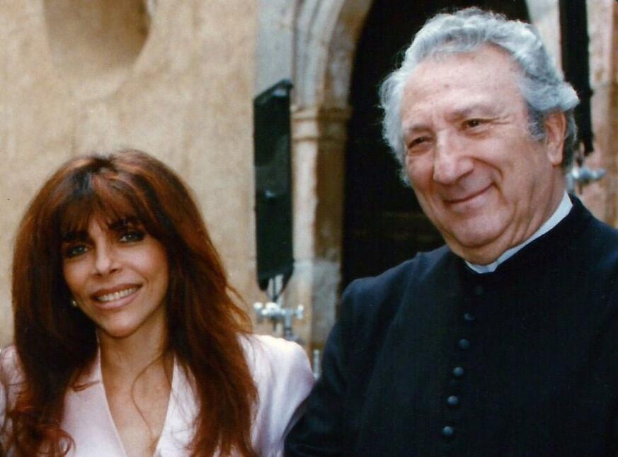 Luis Gimeno y Verónica Castro