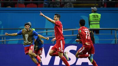 Anulación de gol de Irán ante España llevó al hospital a miembro del cuerpo técnico