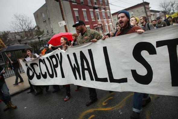 En Atlanta, manifestantes realizaron un mitin en el palacio de justicia.