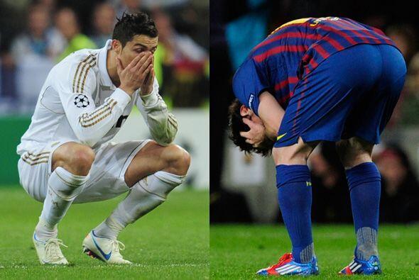 Cristiano Ronaldo y Messi fallaron sus penales en la semifinal de la Cha...