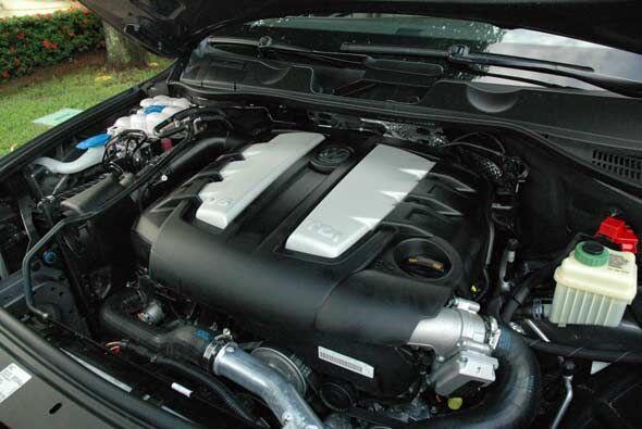 El motor TDI es un V6 de 3.0 litros con 240 caballos de fuerza.