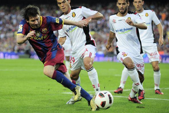 Messi y compañía insistían para la segunda parte, pero se notaron las au...