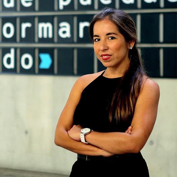 19. Katia Vega, peruana, profesora de diseño interactivo, Universidad de...
