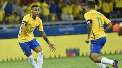 Neymar volverá a escena con Brasil para medirse a Estados Unidos y a El Salvador