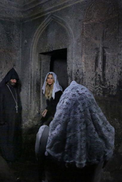 Luego pasaron una noche en Jerusalén para el bautizo de Nori.