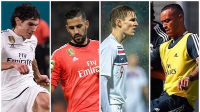 Los señalados en Real Madrid para abandonar el equipo en la recta final del mercado