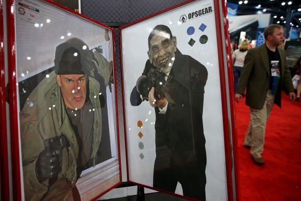Los interesantes carteles para practicar el tiro al blanco.