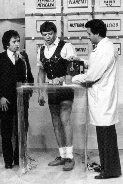 En 1978 durante la transmisión de su show, que lleva más de 47 años al a...