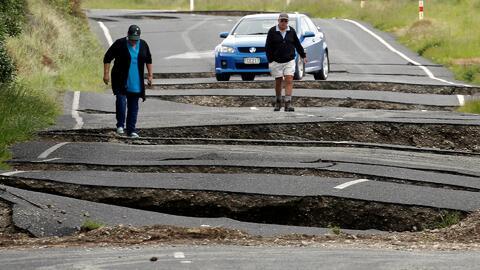 Terremoto de 7.8 grados sacudió a Nueva Zelanda