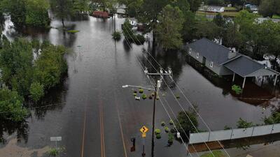 Las lluvias no dan tregua en las Carolinas y siguen generando emergencias, rescates y evacuaciones